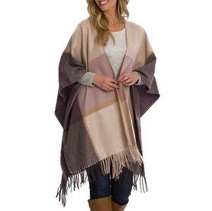 NWT Woolrich Blanket Wrap Scarf One Size